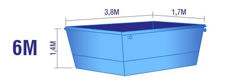 6m Skip Bin