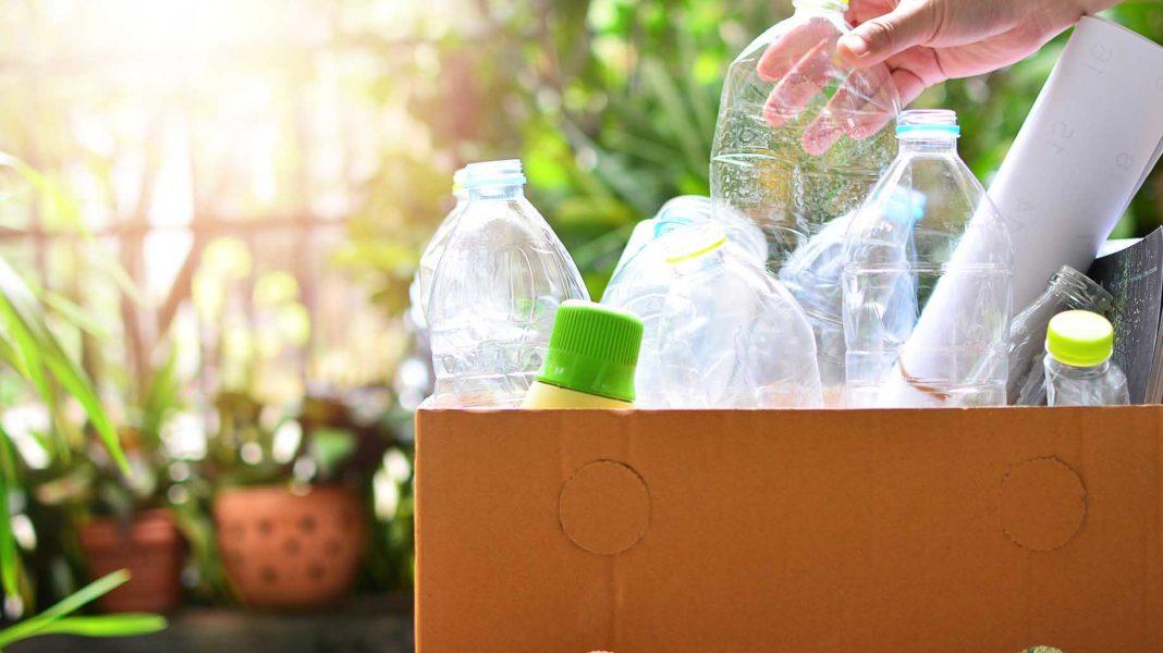reusable plastic bottle